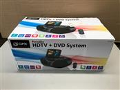 GPX BT780B Portable DVD/CD/CDG/HDTV/AM-FM Player with 7 in. Display